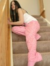 Oriental Alice Posing On The Stairs - Picture 8